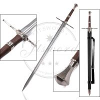 Quality Witcher 3 Wild Hunt Geralt Of Rivia Steel Video Game Replica Swords For Cosplay for sale