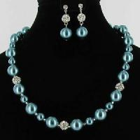 Quality Fashion Alloy Pearl Quality Jewelry Set (JEY-013) for sale
