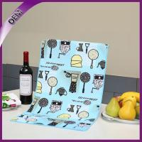 Quality Pattern Custom Printing Kitchen Towel With Cooking Utensil for sale