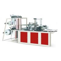 Quality Four Lines Plastic Poly Bag Making Machine Cold Cutting For Flat Opening Bags for sale