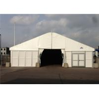 Best 25m * 40m Big Roof Marquee Tent Clear Span Steel Buildings With ABS Solid Wall System wholesale