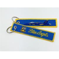 Best F-18 proudly flying the Blue Angels Embroidery Keychain  Key Chain wholesale