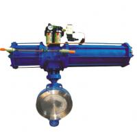Quality Midline type PVC material pneumatic water butterfly valve for sale