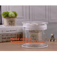 China Hot Sale and High Quality Clear Cylinder Round Tube Packaging Cylinder PVC Packaging Box,Cylinder Packaging box for cosm on sale