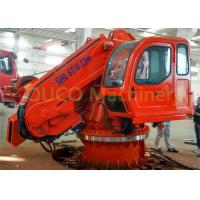 Quality 6T Marine folding knuckle boom crane hydraulic crane and advanced components for sale