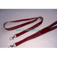 China Woven lanyard / Jacquard lanyard on sale