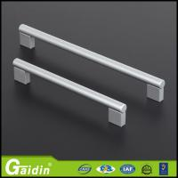 China aluminum furniture hardware cabinet accessory entry glass door pull handles and knobs on sale