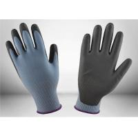 Quality Skin Comfort Cut Resistant Gloves Thin PU Coating Favorable Cooling Effect for sale
