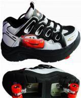 Flying shoes with 4 wheels