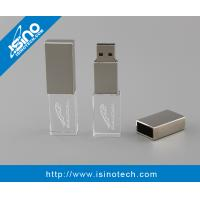 Quality 3D Laser Engrave USB flash Drive Crystal 32GB for sale