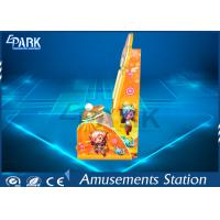 China Kids Coin Pusher Subway Parkour Joystick Controlled Amusement Game Machines for sale
