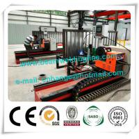 Quality Automatic H Beam Welding Line , Corrugated Web Beam Welding Machine for sale