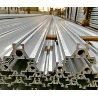 Silver anodized 6063 T6 extrusion aluminum for agricultural machinery t slot framing