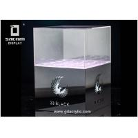 Best Bottle Glorifier Wine Box With Lid Beverage Display Exhibition Show wholesale