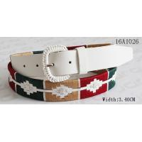 Quality Fashion Women ' S Belts For Dresses With Assorted Color Cords Around Belt By Handwork for sale