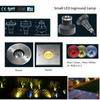 Best CE&ROHS 316 Stainless Steel Small RGB Round or Square LED Underground Lights wholesale