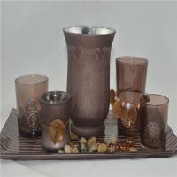Best copper color wholesale candles holder set wholesale