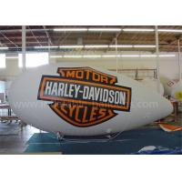 China Indoor Inflatable Air Ship Balloon Huge RC Helium Advertising Blimps on sale