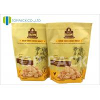 Best Heat Sealing 6oz Stand Up Food Pouches With Zipper , Customized Logo wholesale