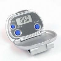 Quality Pedometer with Cover and Clip for sale