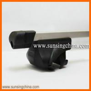 China 8102+B2 Aluminum square universtal car roof rack roof cross bars on sale