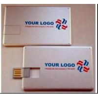 Quality full color printing credit card usb drives with 512mb 1g 2g 4g 8g 16g for sale