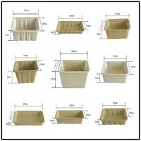 BAGASSE BIO-DEGRADABLE TRAY, 100% BAGASSE RAW MATERIAL, STURDY AND PRETTY