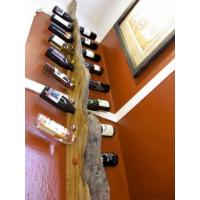 Quality Freestanding Island Four Foot Half Display Wine Rack with Island Endcap Display for sale