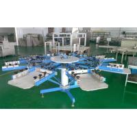 China Manual Textile Screen Printing Press with Micro Registration, T-Shirt Silk Screen Printing Machine (Side clamp system) on sale