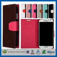 China DustproofShock Resistant Samsung Cell Phone Cases with Pouch Flip Wallet Card Holder on sale