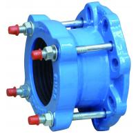 Quality DN50 150Lbs Universal  Ductile Iron Flange Adaptor for PVC Pipes for sale