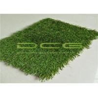 Cool Artificial Grass Landscaping / Outdoor Artificial Turf Easy Clean Low Maintenance