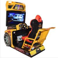 Quality Customized Racing Game Machine For Amusement Park / Arcade Playing Center for sale