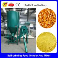 Buy cheap 1 ton poultry feed grinder and mixer for kenya from wholesalers