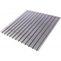 Quality Industrial Welded Stainless Bar Grating , Outdoor Square Square Metal Grate for sale