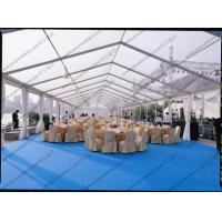 Quality PVC Roof Cover Transparent Marquee Tent , Business Use Clear Top Marquee Inside Decoration for sale