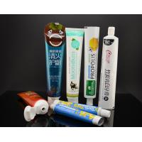 China Aluminum Toothpaste Tube Plastic Cosmetic Tubes Laminated Pacakging on sale