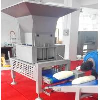Quality SS304 Bread Production Line 600mm Working Width With Auto Dough Cutting Hopper for sale
