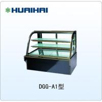 China HUAIHAI  Curved Glass Cake Store Display And Fresh-keeping Counter Type Chest Freezer on sale