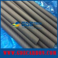 Quality Matte carbon fiber round tube for sale