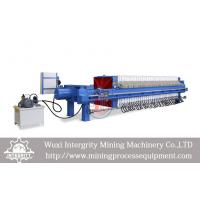 China Automatic Membrane Dewatering Filter Press Copper Tailings Dehydrating on sale