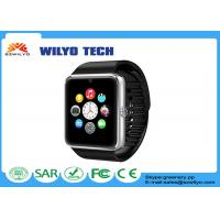 Best WGT08 GSM NFC Cell Phone Wrist Watch FM Touch Screen Sedentary Reminder wholesale