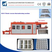 Quality Egg Tray Plastic Thermoforming Machine Servo Drive For Pp / Pvc / Pe Container for sale
