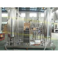 Quality Cola Carbonated Liquid Mixing Machine 0.2 - 0.5Mpa Working Pressure CO2 Mixer for sale