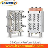 Quality 24 cavity PET preform mold with Air shut off nozzle for sale