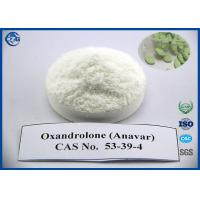 Cas 53 39 4 Raw Powder Steroids 99% Purity Oxandrolone Anavar Pills