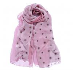 China 50x200cm new design fashion embroidery lady silk scarf on sale