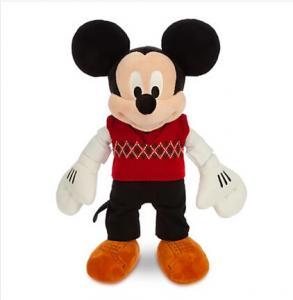 Quality 40cm Disney Christmas Mickey mouse Cartoon Stuffed Animals for sale