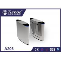 Waterproof Flap Barrier Turnstile Gate Systems / Controlled Access Gates
