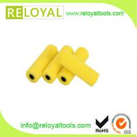 China 4 yellow foam paint roller cover, paint roller sleeve, high density best quality on sale